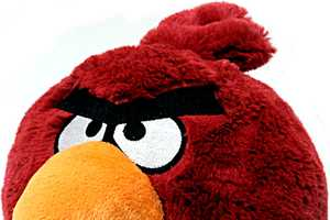 Angry Birds Plush Toys are Coming to a Store Near You