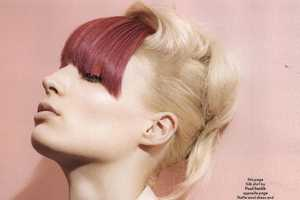 Mellissa Tammerijn Rocks Technicolor Tresses for Another Magazine