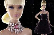 Blinged Out Benefit Dolls (UPDATE) - Barbie for Breast Cancer Research is Most Coveted