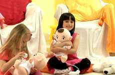 Wii-Stuffed Babies - The Babysitting Mama Game Taps into a Vast, Girly Market