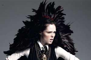 Coco Rocha Poses for Harper's Bazaar Russia November 2010