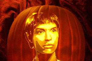 The Pumpkin Geek Does Star Trek Jack-o'-Lanterns for Halloween
