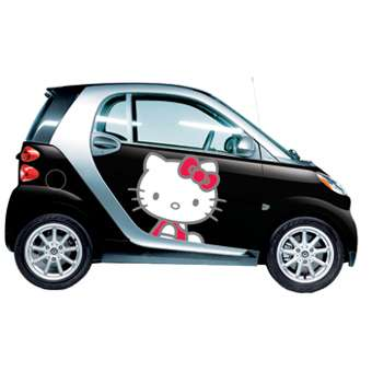 hello kitty smartcars
