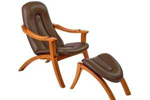This New Harbor Lounge Chair Looks Like a Delectable Fudgesicle