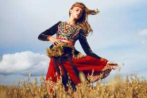 The Elle Sweden Frida Gustavsson Spread Graces the Farm Lands
