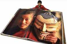 Shockingly Huge Photobooks - The Giant Book of Bhutan Stands in at Seven and a Half Feet Tall