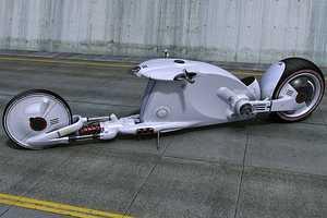 'The Snake Road' Bike Crawls the Road Like a Cobra