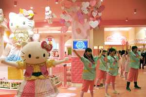This Hello Kitty Kawaii Paradise is an Adorable Catty Getaway