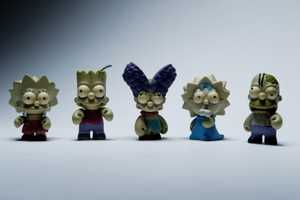 These 'The Simpsons by Kidrobot' Pieces are Super Spooky