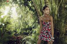 The Rosa Cha Spring 2011 Campaign Features Chanel Iman