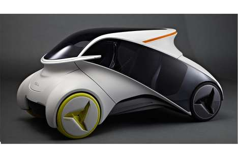 Tech-Savvy Autos - The Null Concept Car Allows Riders to Install Various Mobile Applications