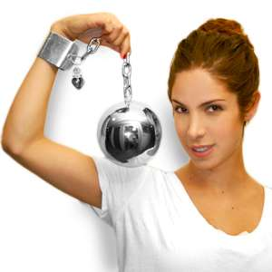 ball and chain purse
