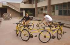 Adult Circus Rides - The Circular Bike by Robert Wechsler is a Grown-Up Carousel