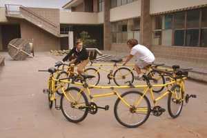 The Circular Bike by Robert Wechsler is a Grown-Up Carousel