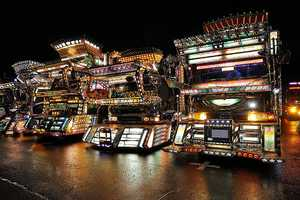The Japanese Dekotora Trucks are Tricked-Out Transportation