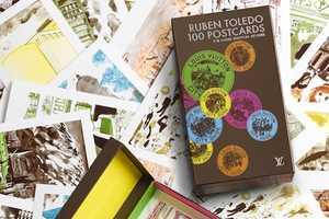 Painted Landmarks by Ruben Toledo for Louis Vuitton Cityguide