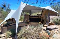 Slanted Desert Dwellings