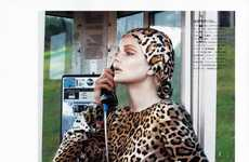 Hot Housewife Looks - This Eniko Mihalik Vogue Nippon Spread Shows the Stylish Side of Housework