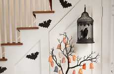 Spooky Interior Design - Style at Home Shows Off Some Scary Halloween Decor Tricks