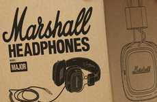 Amped Headphones - Marshall Headphones Will Bring Out the Rockstar in You