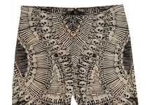 Bone-Baring Tights - These Alexander McQueen Skull Leggings are Fashionably Haunting