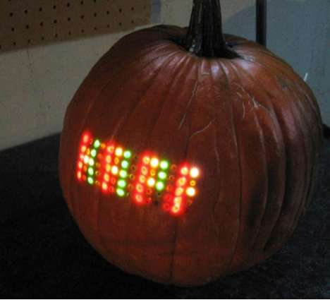 LED Matrix Pumpkin
