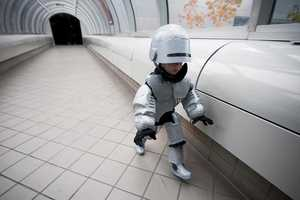 This Lil Robocop Costume Makes for a Machine of a Mini-Man