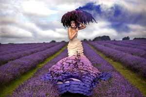 Kirsty Mitchell Shoots a Perfect Purple Pictorial