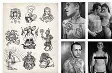 Exploring Russian Criminal Tattoos - This Sergei Vasiliev and Danzig Baldaev Exhibit is Twisted