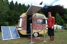 Green Mobile Theaters - The Sol Cinema is a Solar-Powered Micro Movie House