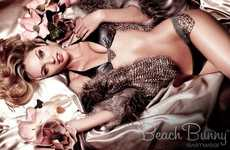 Decadent Pin-Up Campaigns - Enchanting Candice and the Beach Bunny 'Old Hollywood' Line