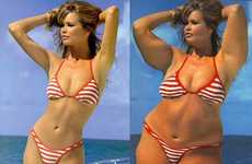 Photoshop Schadenfreude - Dumage Digitally Packs Pounds on Skinny Celebrities
