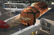 Pumpkin-Shaped Airports - Wellington International Airport Unveils its New Terminal Named The Rock