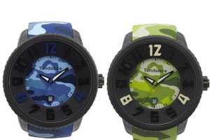 The Tendence Camouflage Watch will Help You Win the Battle in Style