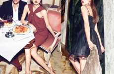 Couple Fashion Campaigns - The Mango Fall Ad Stars Olivia Palermo & Johannes Huebl