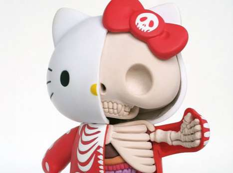 Hello Kitty Anatomy Sculpture