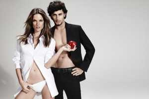 Alessandra Ambrosio and Jesus Luz for Chenson Summer 2011