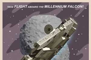 These 'Vintage Star Wars Travel Posters' Encourage a Trip to Tatooine