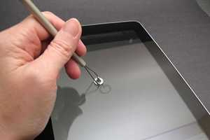 This oStylus Touchscreen Accessory is for Clumsy Fintertips