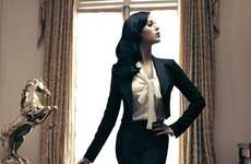 Aristocratic Singer Spreads - The Katy Perry Harper's Bazaar Spread is Elegant and Sophisticated