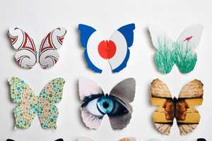Papillons Graphiques by Chris Waind Contains Bright Butterflies
