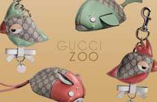 Designer Animal Wallets - These Gucci Zoo Key Chains Monkey Around with Fun Designs