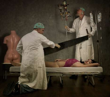 Hacksaw Surgery Shoots - Peter Kemp Captures a Crazed Cosmetic Surgeon in the Act