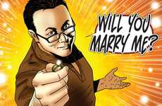 Comic Book Proposals - Leigh Gallagher Geekily Asks for Niki's Hand in Marriage