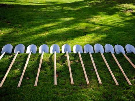 shovels made from guns