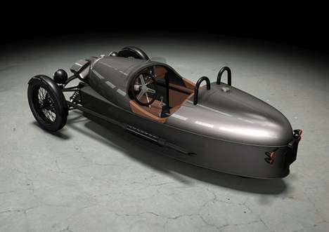 Retro Three-Wheeled Rides - The Morgan Motor Co. Threewheeler is Hitting the Roads Once More