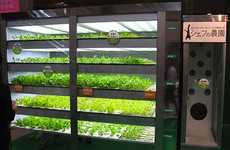 Lettuce-Growing Vending Machine Produces Sunless Salad Greens