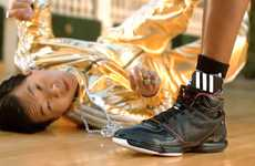 Ladies' Man Shoe Ads - 'Adidas: AdiZero Rose' Ad Plays on the Duo of Slim Chin and Dwight Howard