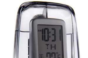 Water-Powered Digital Alarm Clocks Runs Solely on Aquatic Energy