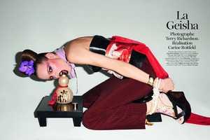 Terry Richardson Vogue Paris Editorial Shows Sultry Japanese Culture